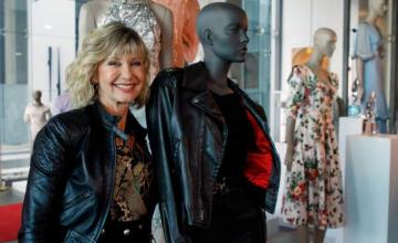 Olivia Newton-John's Grease outfit sells for more than $400,000