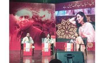 Mahira Khan, up close and personal at the Faiz Festival 2019