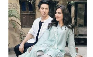 Ahsan Khan and Ushna Shah pairing up for a drama serial
