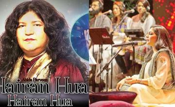 Abida Parveen makes copyright claim on Sanam Marvi's 'Hairaan Hua'