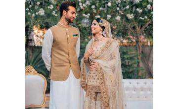 Sports Journalist Zainab Abbas tied the knot in Lahore