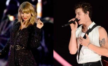 Taylor Swift and Shawn Mendes perform a duet version Lover together