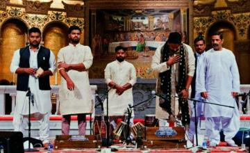 Hamza Akram Qawwal & Brothers give a magical performance at the Stanford Communion Church