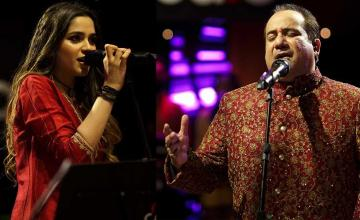 RFAK and Aima Baig reminisce romantic folklore of Heer Ranjha in Heeray