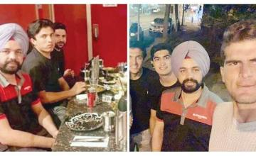 Pakistan cricketers invite Indian taxi driver to dinner after free cab ride