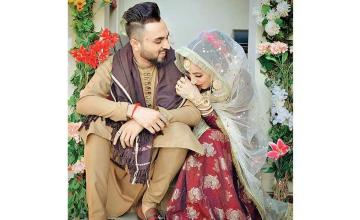Actress Sanam Chaudhry ties the knot