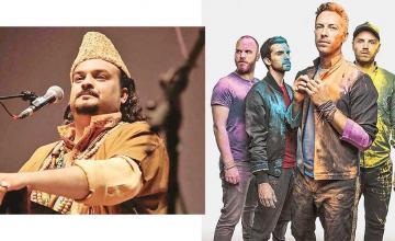 Coldplay pays homage to Amjad Sabri