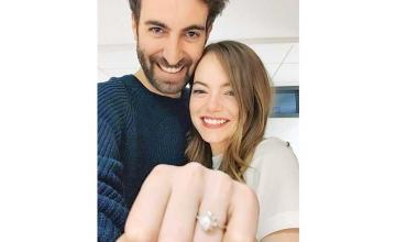 Emma Stone got engaged to director and writer Dave McCary