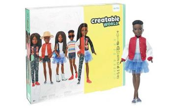 Mattel releases gender-neutral Creatable World dolls