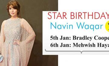 STAR BIRTHDAYS Navin Waqar