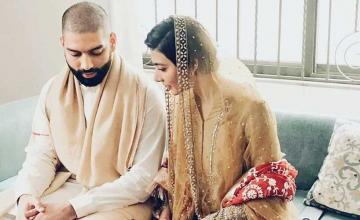 Eman suleman and Jamil Rizvi tie the knot!
