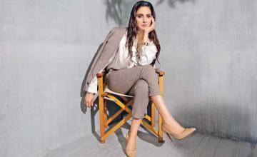 SABA QAMAR signing her next feature film