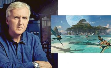 James Cameron shared the first glimpse of Avatar 2
