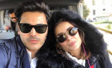 Fahad and Sarwat... in Rome