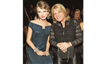 Taylor Swift reveals that her mom Andrea Swift is diagnosed with brain tumour