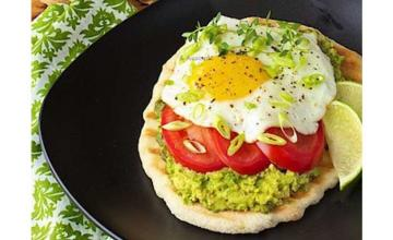 Avocado Breakfast Flatbread