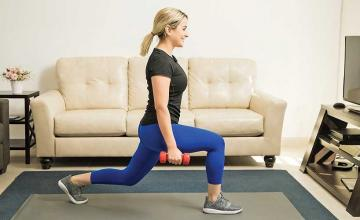 Netflix and move: Exercises you can do while watching TV