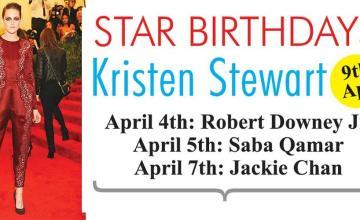 STAR BIRTHDAYS Kristen Stewart