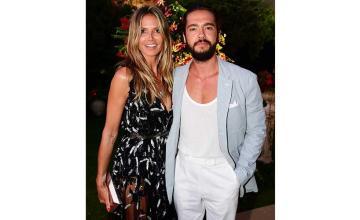 Heidi Klum and husband Tom Kaulitz awaits test results