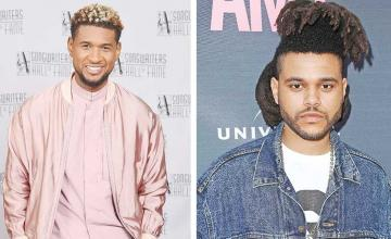 It's a feud: The Weeknd accuses Usher of plagiarism