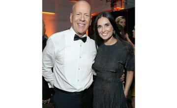 Exes Demi Moore and Bruce Willis are social distancing together
