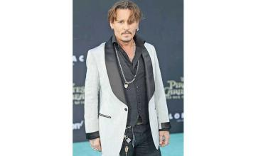 Johnny Depp is pandemic-ally forced to join the platform