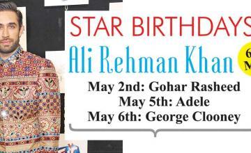 STAR BIRTHDAYS Ali Rehman Khan