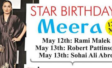 STAR BIRTHDAYS Meera