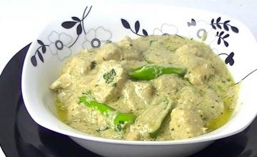 Chicken Malai Handi