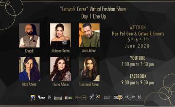 Virtual fashion show 'Catwalkcares'