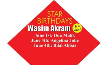 STAR BIRTHDAYS Wasim Akram