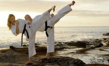 GETTING FIT WITH MARTIAL ARTS