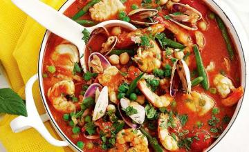 Seafood Tagine