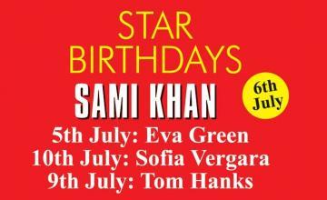 STAR BIRTHDAYS SAMI KHAN