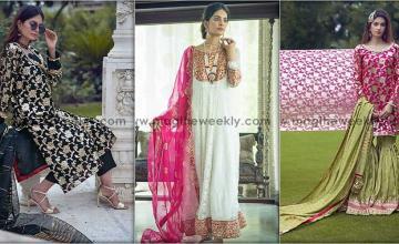 Eastern couture mood: Flamboyant with zari