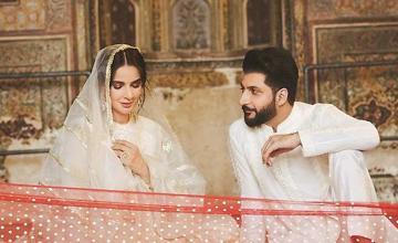 Saba Qamar's directorial debut turns out to be Bilal Saeed's music video Qubool Hai