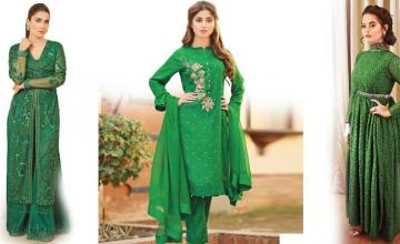 Glamourous in Green!