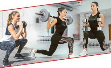 4-week weight training plan for women