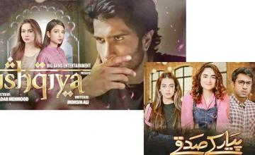Repeat telecast of Ishqiya and Pyar Ke Sadqay banned by Pemra for being 'against social and religious values'
