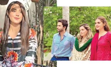 Iqra Aziz is all geared up for upcoming drama, Raqeeb Se