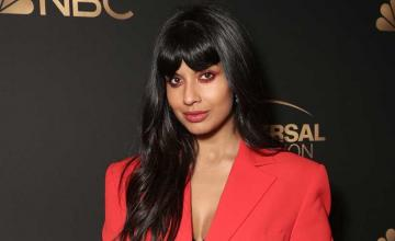 Jameela Jamil reacted to claims about her friendship with Meghan Markle