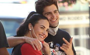 Max Ehrich is helping Demi Lovato to rethink her approach subjected to body image