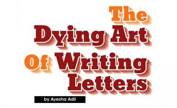 The dying art of writing letters