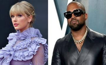 Kanye West in latest Twitter spree vows to get Taylor Swift's masters back
