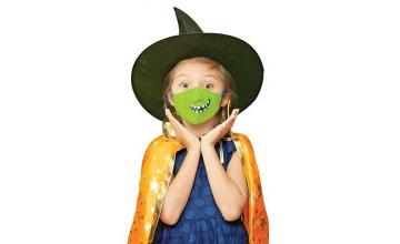 Crayola released Halloween-themed face masks for kids (and adults!) on Amazon