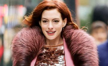 Anne Hathaway has transformed into a witch for Roald Dahl's 'The Witches'