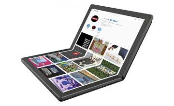 Lenovo announced the world's first foldable PC
