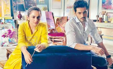 Wahaj Ali and Yumna Zaidi begin shooting for their new venture, Dil Na Umeed To Nahi