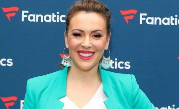 Alyssa Milano is suffering from extreme hair loss months after corona virus battle