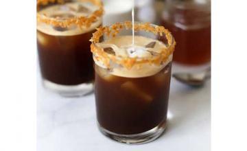 Toasted Coconut Shakerato – Italian Style Iced Coffee